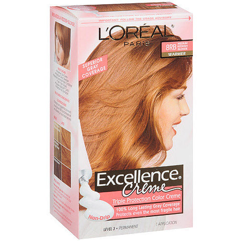 L'Oreal Excellence Creme   8RB Reddish Blonde