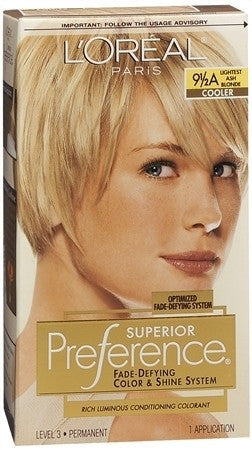 L'Oreal Preference   Extra Light Ash Blonde 9 1/2A