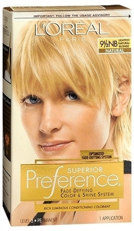 L'Oreal Preference   Lightest Natural Blonde 9 1/2NB