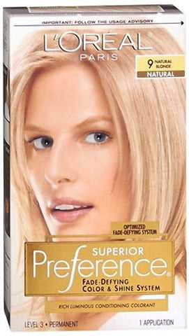 L'Oreal Preference Natural Blonde 9