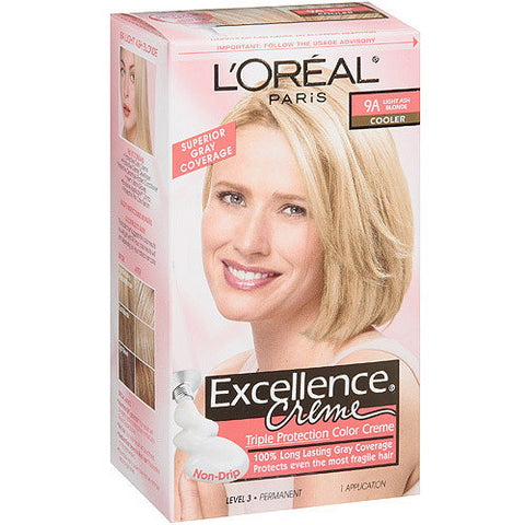 L'Oreal Excellence Creme, 9A Light Ash Blonde