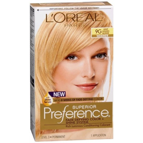 L'Oreal Preference  Light Golden Blonde 9G