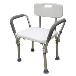 Roscoe Shower Chair with Back and Handles