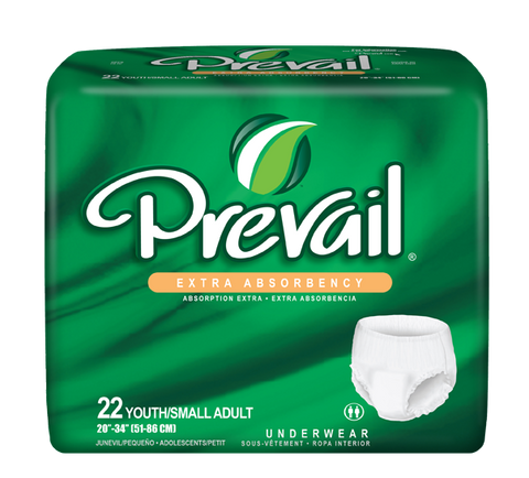 Prevail Protective Underwear Small, 4 packs 22 ea (88 ct)