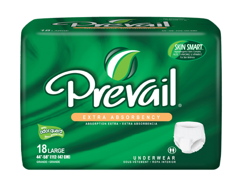 Prevail Protective Underwear Lg, 4 packs,18 ea (72 ct)