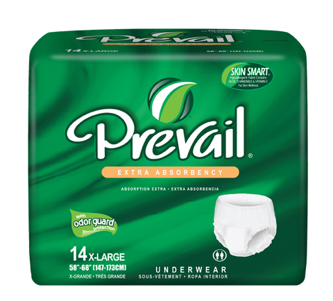 Prevail Protective Underwear XL, 4 packs, 14 ea (56 ct)