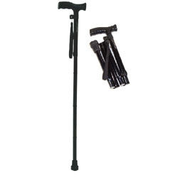 Roscoe Folding Cane 6/case Black