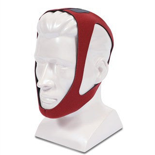 Tiara-Carefusion Chinstrap, Ruby Red XL