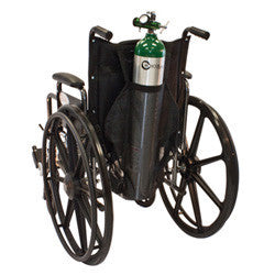Attentus Bag Oxygens wheelchair for D, E size tanks