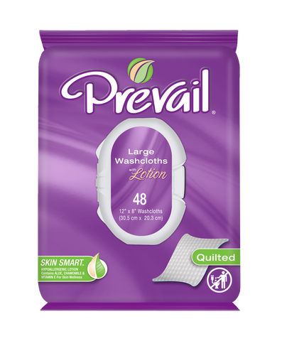 Prevail Premium Soft Pack with Press-N-Pull Lid, 12 Packs of 48 (576 ct)