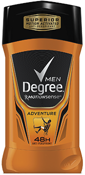 Degree Men Motionsense Invisible Solid , Adventure, 2.7 oz
