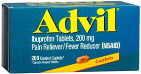 Advil Pain Reliever/Fever Reducer, 200 mg, 200 caplets - PlanetRx