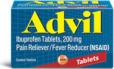 Advil Ibuprofen, 200mg, 150 tablets - PlanetRx