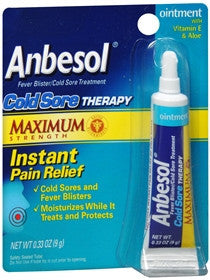 Anbesol Cold Sore Therapy, 0.25 oz - PlanetRx