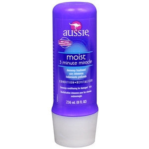 Aussie Moisture Treatment, 3 Minute Miracle, Deep Conditioner, 8 oz