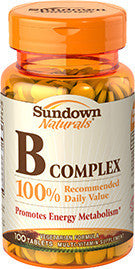Sundown B Complex, 100 tablets