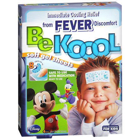 Kobayashi Healthcare BE Koool Gel Sheets For Kids, SHEETS, 4 ea