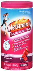Metamucil MultiHealth Fiber, Berry Burst