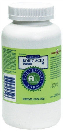 Boric Acid Powder NF, 12 oz