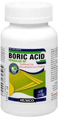 Humco Holding Group Boric Acid, NF, 4 oz