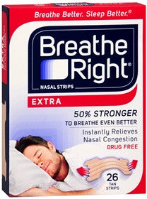 Breathe Right Nasal Strips,  Extra, 26 count