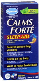 Hylands Calms Forte Sleep Aid, 100 tablets