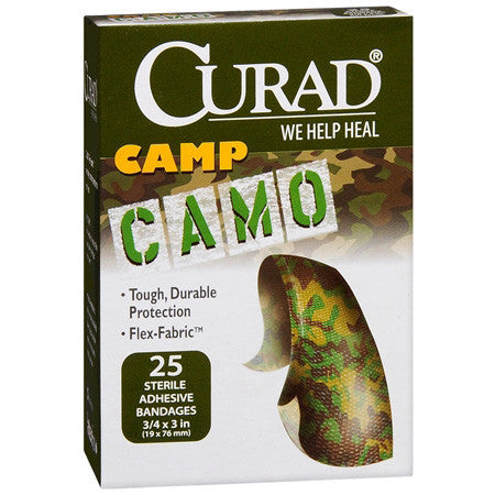 Curad Camouflage Bandages, 25 ea