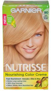 Garnier Nutrisse  Light Natural Blonde No.90
