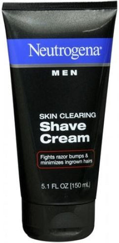 Neutrogena Shave Cream, Skin Clearing, 5.1 oz