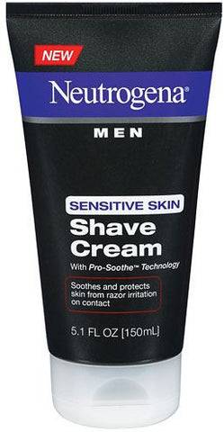 Neutrogena Men Sensitive Skin Shave Cream, 5.1 oz