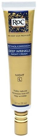RoC Retinol Correxion Deep Wrinkle Night Cream, 1.01 oz