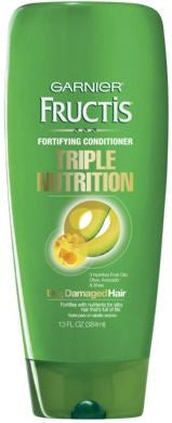 Garnier Fructis Triple Nutrition Conditioner, 13 oz