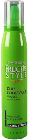 Garnier Fructis Style Curl Construct Mousse Extra Strong, 6.8 oz