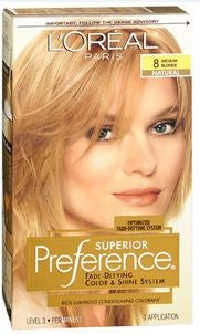 L'Oreal Preference  Medium Blonde 8