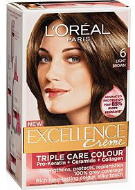 L'Oreal Excellence Creme  6 Light Brown