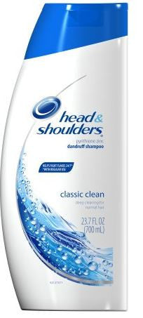 Head & Shoulders Dandruff Shampoo, Classic Clean, 23.7 oz