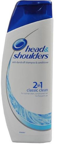 Head and Shoulders 2 in 1 Dandruff Shampoo, Classic Clean, 14.2 oz