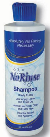 No-Rinse, Shampoo, 8 oz