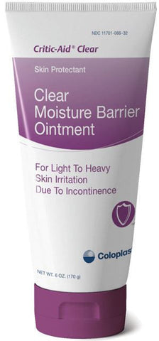 Critic-Aid Clear Moisture Barrier Ointment, 6 oz