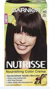 Garnier Nutrisse     Dark Brown No. 40