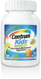 Centrum Kids, 150 chewable tablets