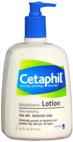 Cetaphil Daily Advance Ultra Hydrating Lotion, 16 oz