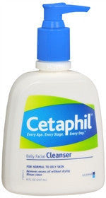 Cetaphil Daily Facial Cleanser, 8 oz