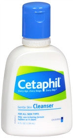Cetaphil Gentle Skin Cleanser, 4 oz