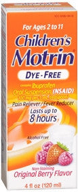 Motrin Children's Ibuprofen Oral Suspension, 4 oz