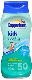 Coppertone Kids Pure & Simple Lotion, SPF 50, 8 oz