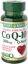 Nature's Bounty Co Q-10 Q-Sorb 200mg, 30 softgels