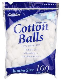 United Exchange Cotton Balls, 100ct