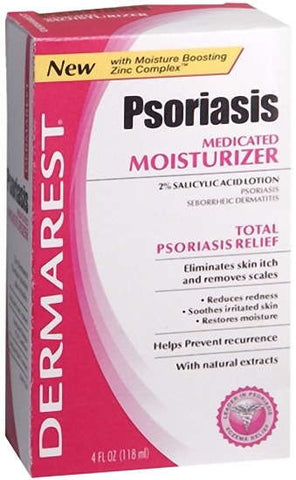 Emerson Healthcare Dermarest Psoriasis Medicated Moisturizer, 4 oz