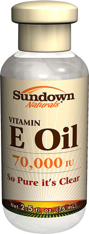 Sundown Natural E-Oil  70,000 IU, 2.5 oz